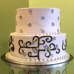 Deco Vine Tiered Cake