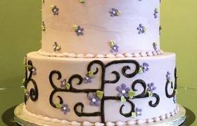 Deco Vine Tiered Cake