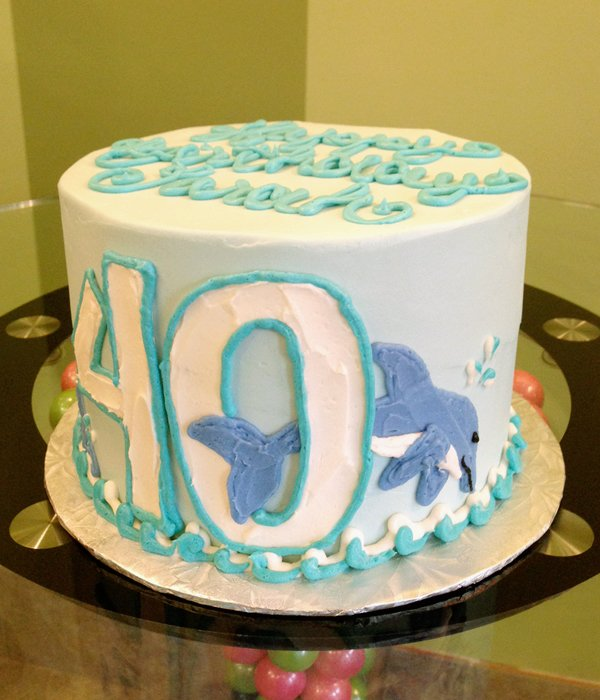 Dolphin Layer Cake