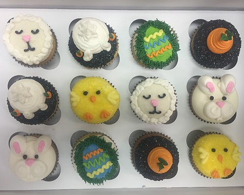Easter Assortment Cupcakes