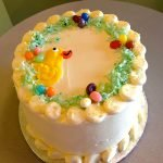 Easter Chick Layer Cake