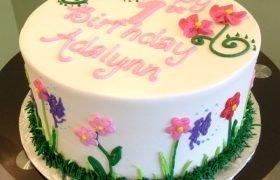 Fairy Garden Layer Cake