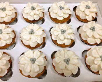 Flower Petal Cupcakes