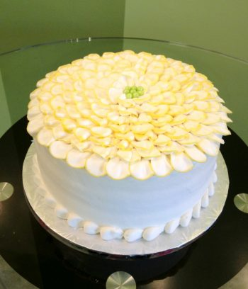 Flower Petal Layer Cake