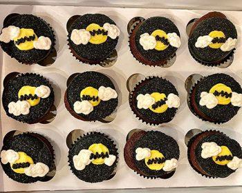 Halloween Cupcakes - Bats