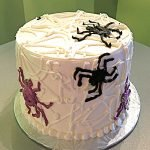 Halloween Spiderweb Layer Cake