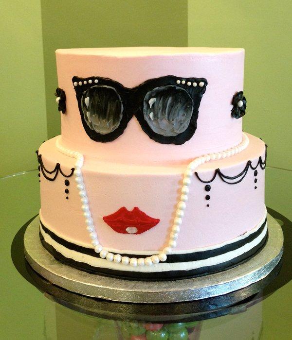 Hepburn Tiered Cake