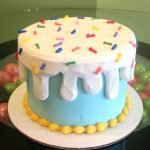 Ice Cream Sprinkle Cake