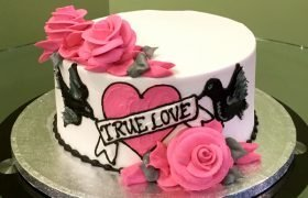 Kat Tattoo Layer Cake