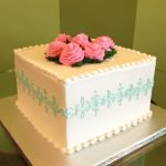Lace Band Layer Cake - Blue & Pink