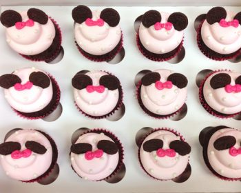 Mouse Ear Cupcakes