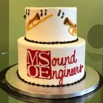 Musical Instruments Tiered Cake