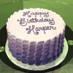 Nia Ombre Layer Cake - Purple Top