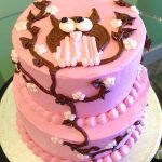Owl Tiered Cake