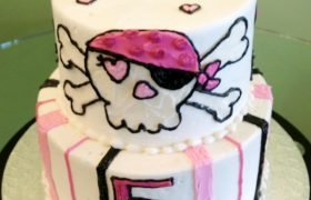 Pirate Tiered Cake