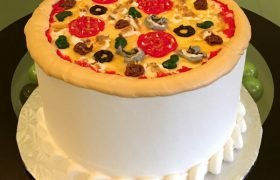 Pizza Layer Cake