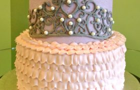 Princess Tiara Tiered Cake