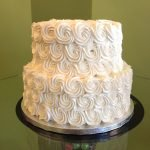 Rosette Tiered Cake
