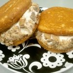 Salted Caramel Toffee Cupcakewich