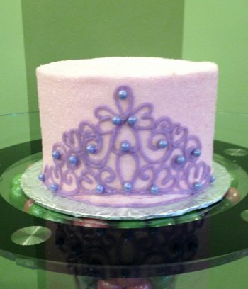 Princess Tiara Layer Cake