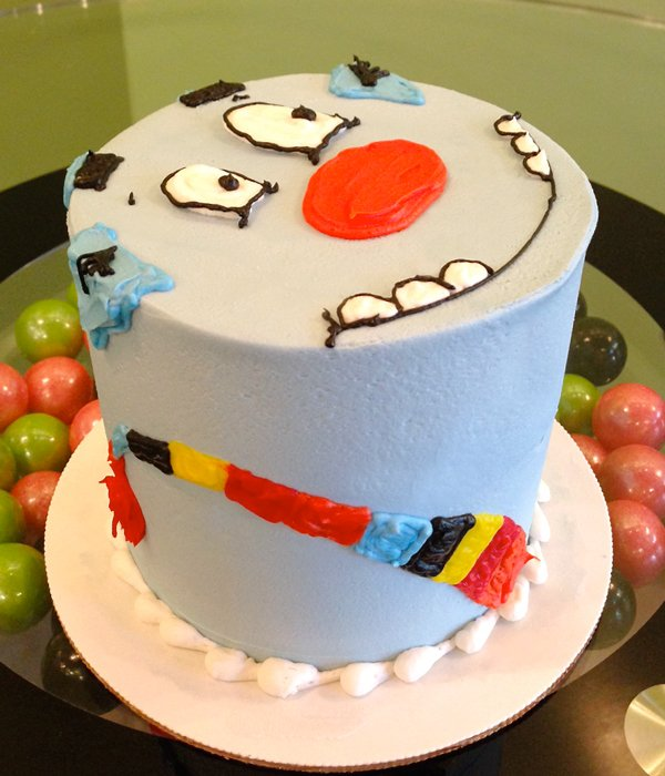 Tickle Monster Layer Cake