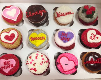 Valentines Day Cupcakes - Smooch