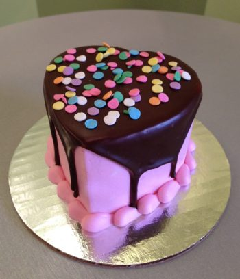 Valentines Heart Mousse Cake