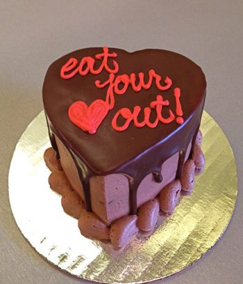 Valentines Heart Mousse Cake - Eat Your Heart Out