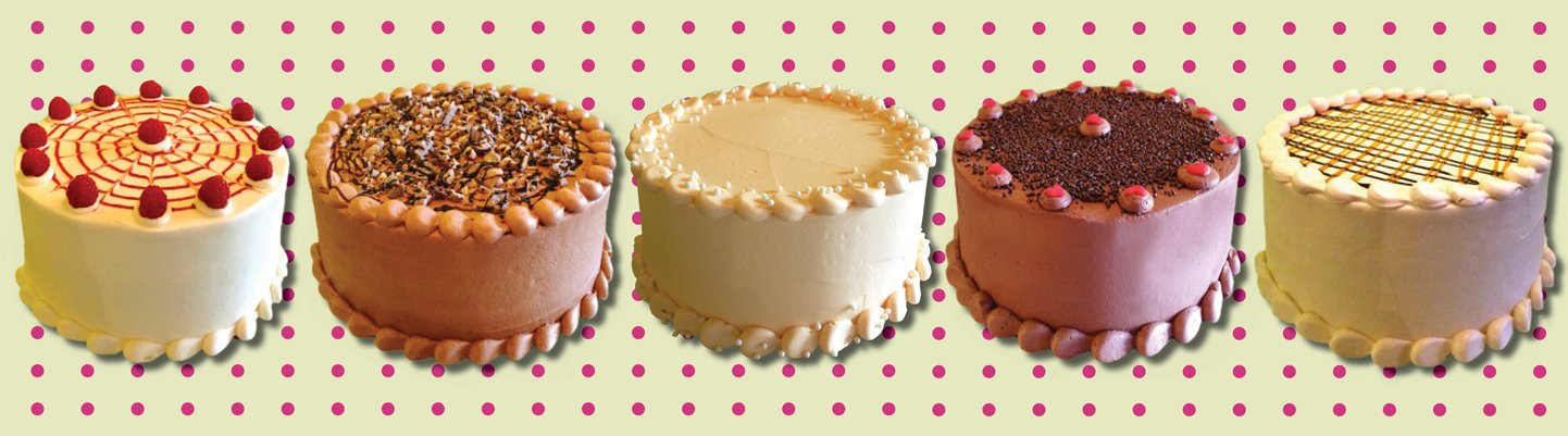 Website Header - Gourmet Layer Cakes