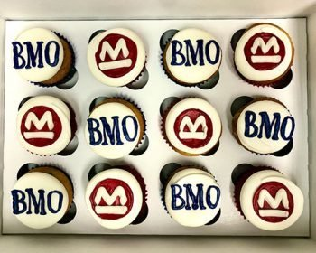 Company Logo Cupcakes - BMO Harris Bank