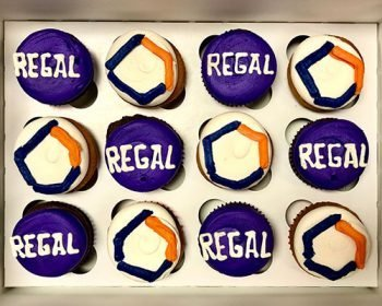 Company Logo Cupcakes - Regal Clearsulting