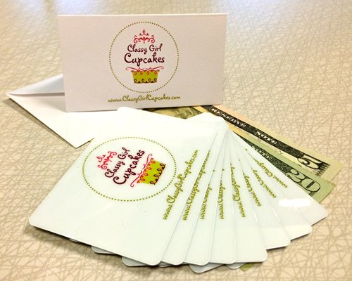 Classy Girl Cupcakes Gift Card