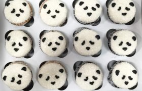 Panda Decorated Cupcakes