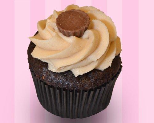 Peanut Butter Delight Cupcake*