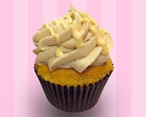 Vanilla Salted Caramel Cupcake*