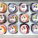 Unicorn Decorated Cupcakes