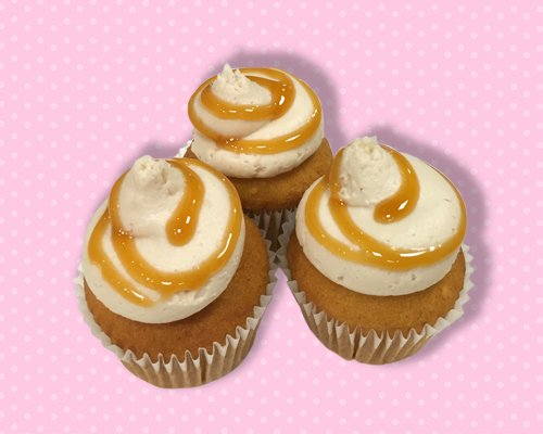 Caramel Apple Mini Cupcake