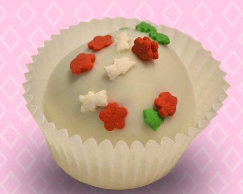 Christmas Cupcake Truffle