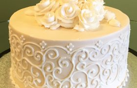 Grace Layer Cake - Ivory