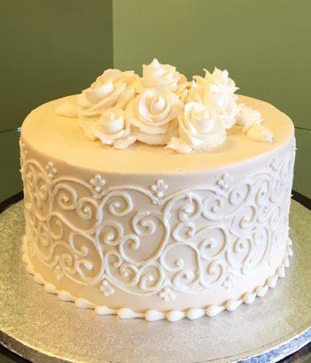 Grace Layer Cake - Ivory
