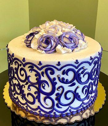 Grace Layer Cake - Purple