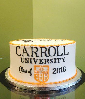 Graduation Layer Cake - Carroll University