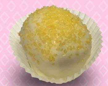 Lemon Cupcake Truffle
