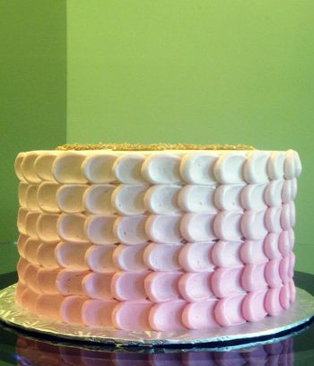 Nia Ombre Layer Cake - Pink