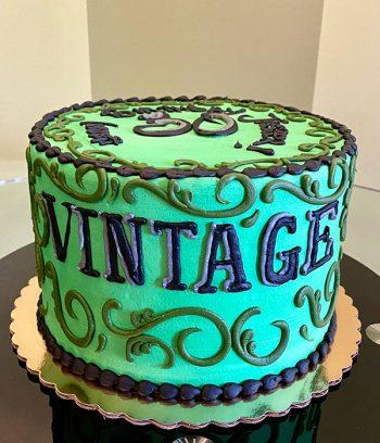 Vintage Dude Layer Cake - Green