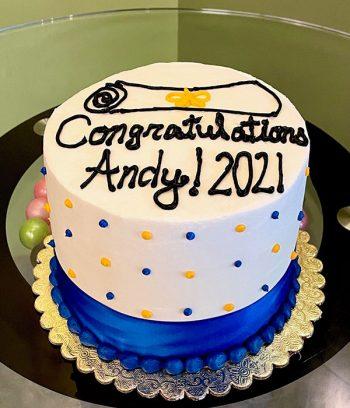 Congratulations Layer Cake
