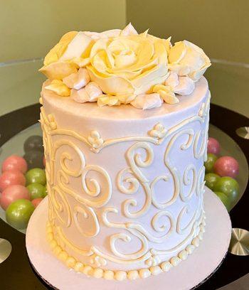 Grace Layer Cake - Yellow