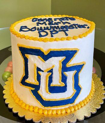 Graduation Layer Cake - Marquette University