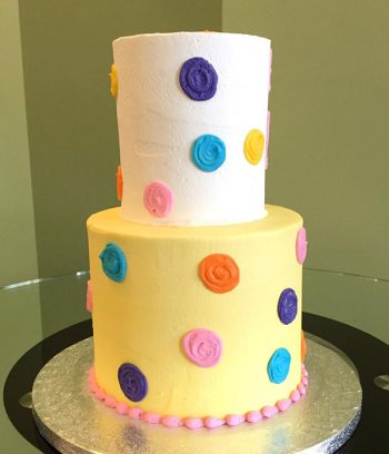 Sesame Street Tiered Cake - Back