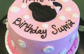 Minnie Mouse Layer Cake